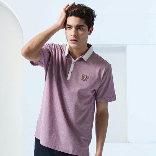 男裝新款 夏季 格子襯衫 流行服飾 經典男裝 上衣款{ 淺紫色 M.L.XL.2XL } 【86380-80】*86精品女人國*