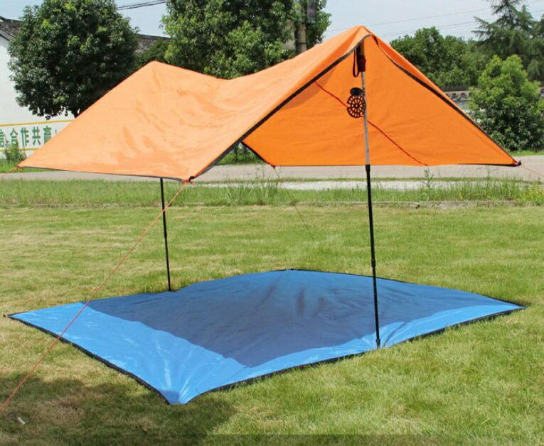 【露營趣】中和 TNR-209 150x200 防水地布 地墊 小天幕 2~3人帳篷 二人帳 三人帳 非犀牛929