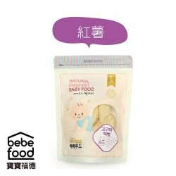 美馨兒* 韓國 BEBEFOOD寶寶福德 米餅-紅薯(紫地瓜) 169元