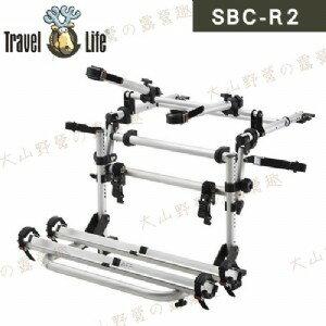 【露營趣】安坑 Travel Life 鹿牌 SBC-R2 轎車鋁槽式攜車架 後背式攜車架 自行車架 單車架 腳踏車架