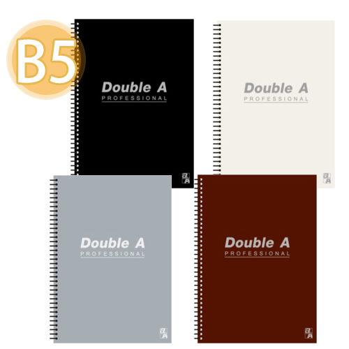 【Double A 】 B5/18K 線圈筆記本 DANB121 辦公室系列 (橫線/左開/50頁)