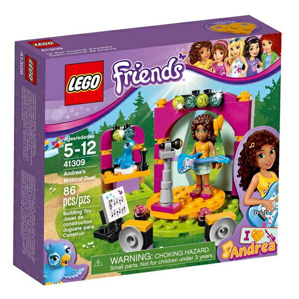 樂高積木LEGO《 LT41309 》Friends 姊妹淘系列 - 安德里亞的二重奏
