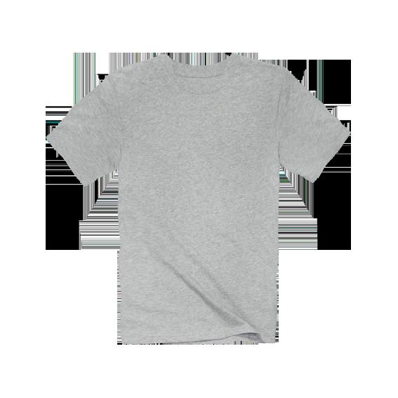 DoctorJ 內搭素面短T-灰色 (男女款T恤皆有)