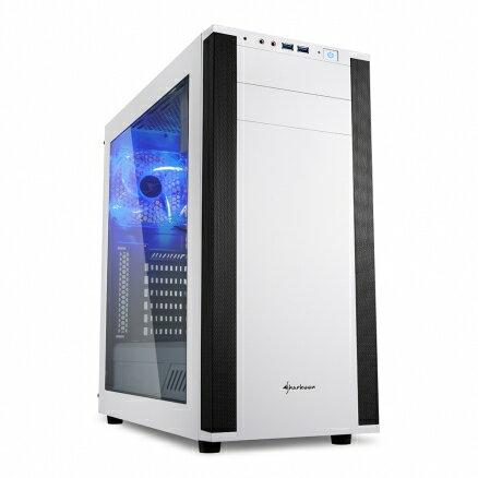 旋剛Sharkoon酷玩者M25-W(W)電腦機殼PC機殼電競機殼電腦機箱【迪特軍】