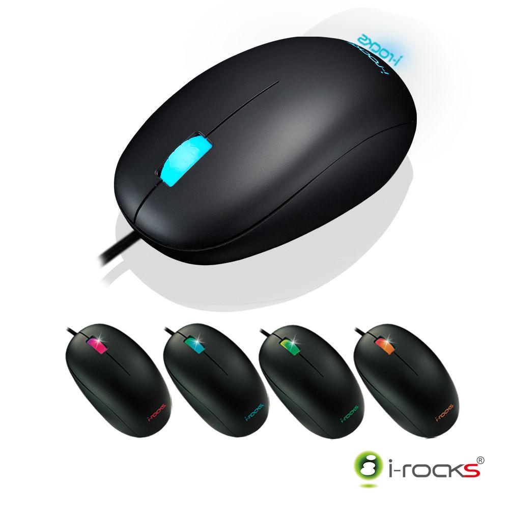 【迪特軍3C】i-Rocks IRM05 多彩炫光RGB光學電競滑鼠 2年保固