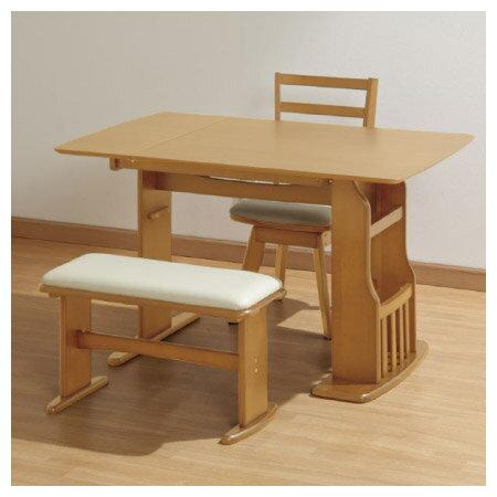 ◎可伸縮兩人餐桌椅組 ROA LBR NITORI宜得利家居 9