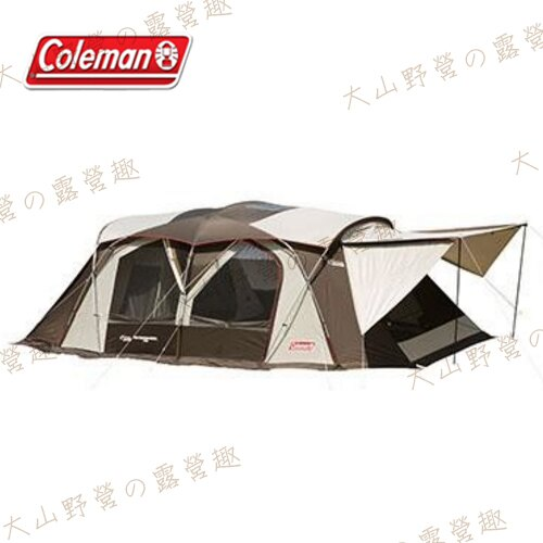 【露營趣】中和安坑 Coleman CM-22110 氣候達人2-ROOM COCOON II 別墅帳篷 網屋 客廳帳 隧道帳