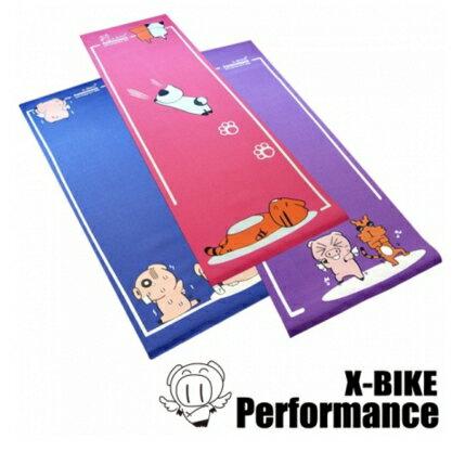 X-BIKE 獨家設計卡通瑜珈墊