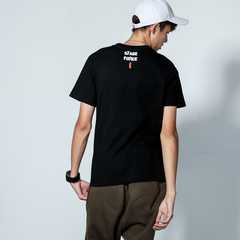 STAGEONE FORCE 1 TEE 黑色 / 白色 兩色 3