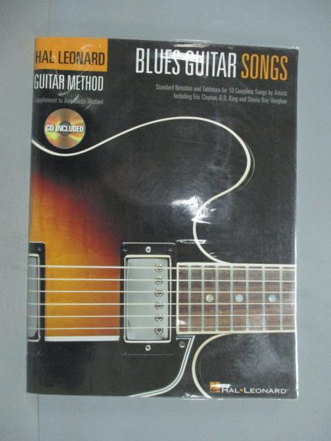~書寶 書T7/音樂_ZKL~Blues Guitar Songs: Guitar Met
