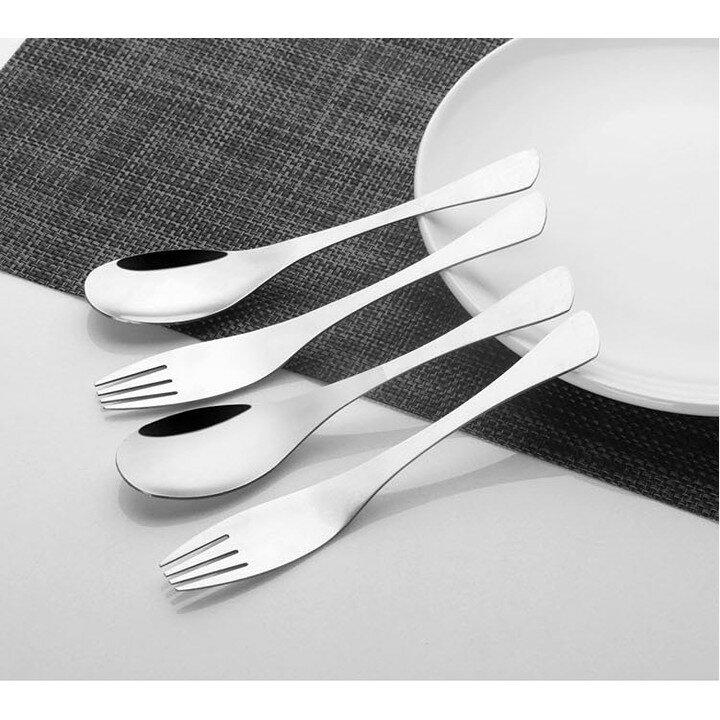 [現貨] 極緻316不鏽鋼 餐具 湯匙 叉子 咖啡匙 水果叉 牛排刀 分菜匙 台式大湯匙 高質感#316不銹鋼叉匙