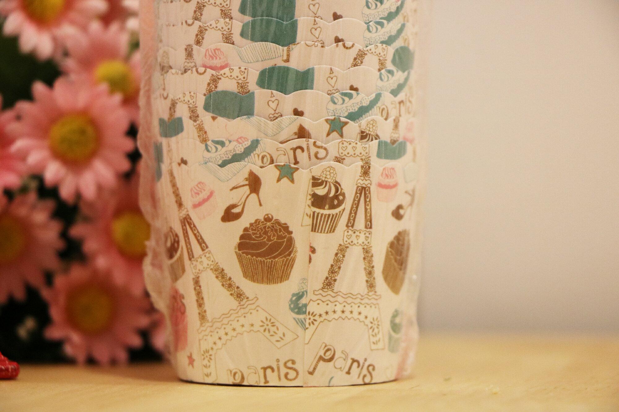 甜點巴黎-馬芬蛋糕紙杯小(25入)