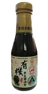 民生有機黑豆醬油膏150ml