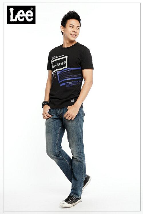 【全館免運 | 滿額↘再折$150】Lee 728 標準直筒牛仔褲 RG 男款 中藍