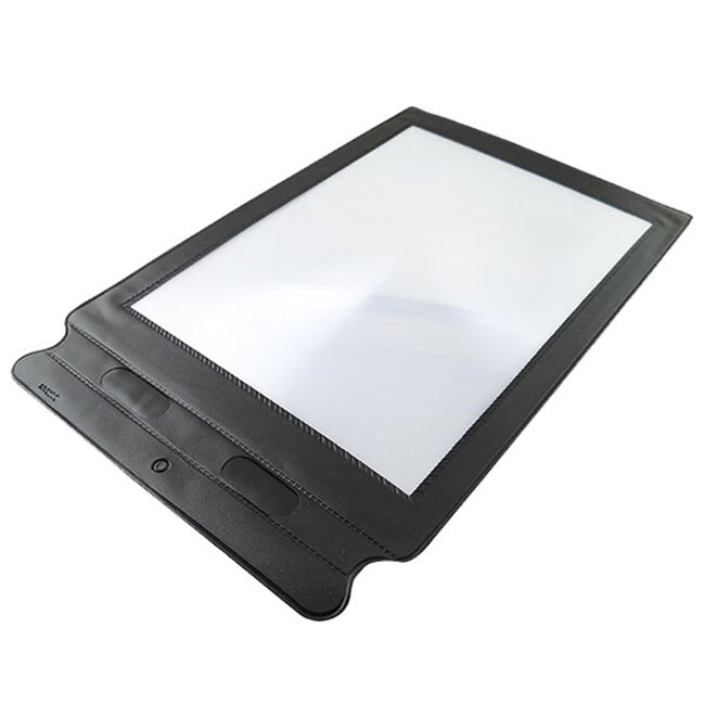 ~放大鏡專賣~ ~薄片書頁型放大鏡 A4放大鏡 PVC鏡片放大鏡 可放置筆:30.5 x