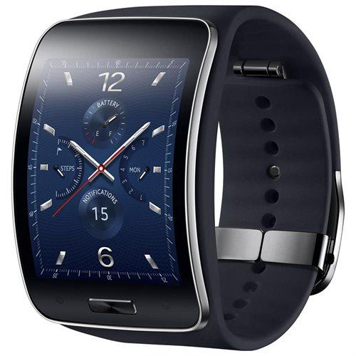 Samsung Galaxy Gear S R750 SM-R750A Smart Watch - Black 2