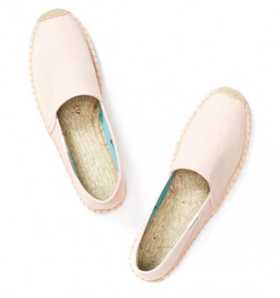【Soludos】美國經典草編鞋-基本款草編鞋-粉 4