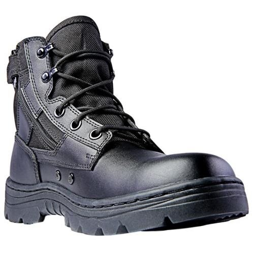 "Ridge Tactical Boots Mens Dura-Max Mid Zipper 6"" Shaft   4205 1"
