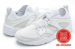 ☆Mr.Sneaker☆ Puma Select Blaze Of Glory X Stampd EU B.O.G 限量 聯名 白色 男段