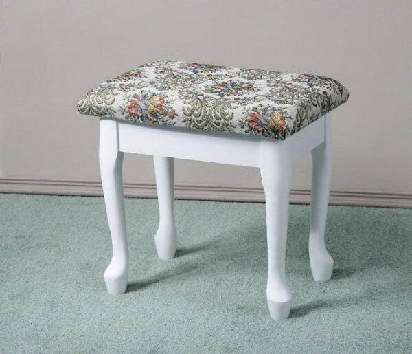 馥葉生活館:掀蓋化妝椅收納椅電腦椅兩色【馥葉】【型號MC4632】可加購化妝桌