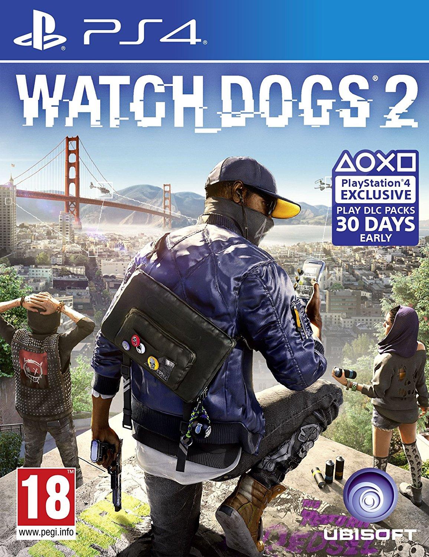 PS4 看門狗2 -中文亞歐版- Watch Dogs 2