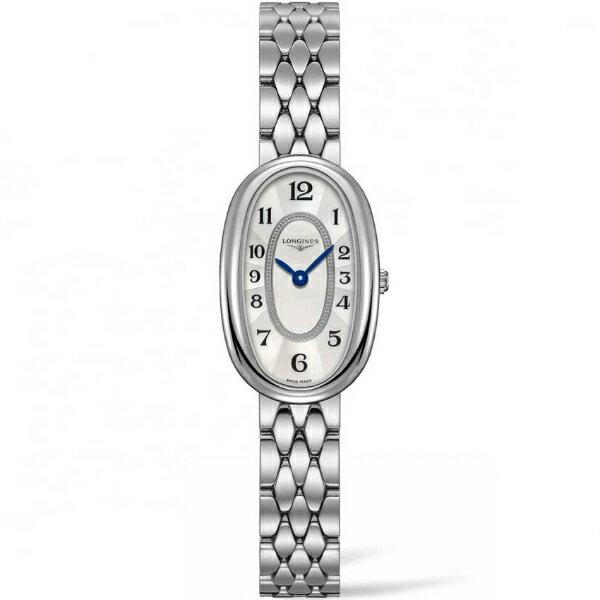LONGINES 浪琴錶 L23054836圓舞曲系列經典時尚腕錶/白面19*30mm