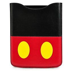 X射線【C140001】10吋米奇Mickey iPad平板套(黃.鈕扣),筆電收納套/電腦防塵套/防護套/電腦包/
