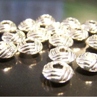 銀色隔片飾品  8mm DIY項鍊/手鏈配件 - 限時優惠好康折扣