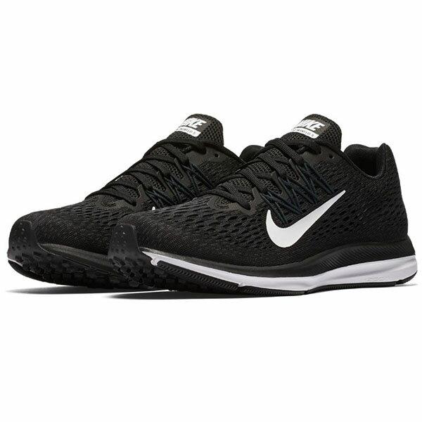 【NIKE】WMNS NIKE ZOOM WINFLO 5 运动鞋 慢跑鞋 黑色 女鞋-AA7414001