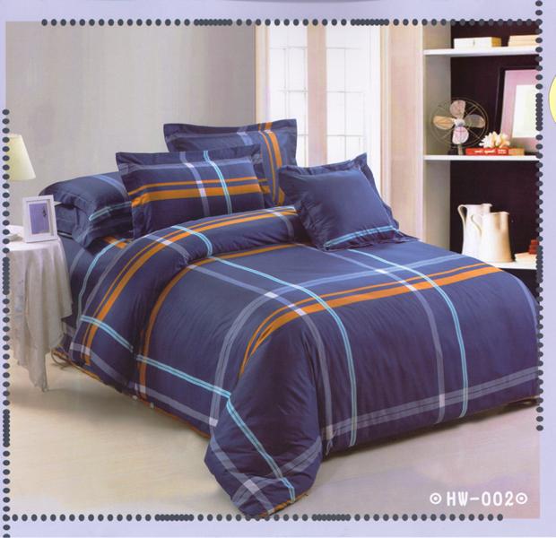 ?臺灣製?舒柔棉磨毛超細纖維床包組《HW-002》5X6.2尺雙人床包組+兩用被 四件組◤彩虹森林◥