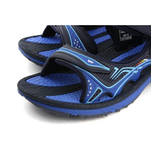 GP (Gold.Pigon) 阿亮代言 涼鞋 防水 雨天 藍色 男鞋 G8655M-20 no953 4