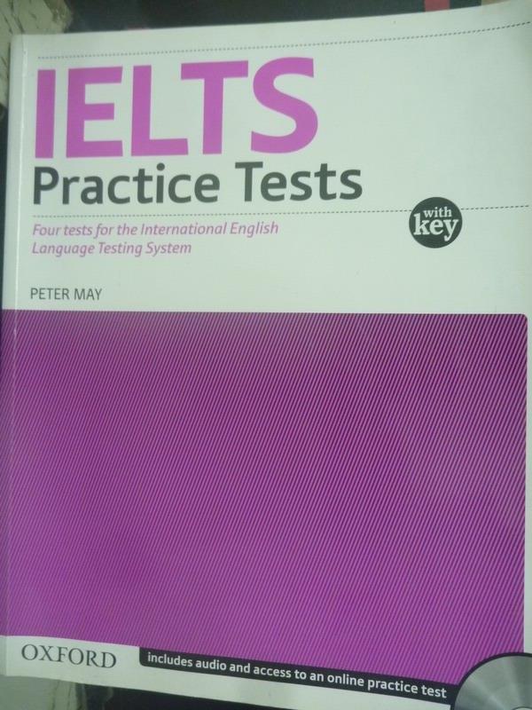 【書寶二手書T1/語言學習_YER】IELTS Practice Tests WITH KEY MAY_Peter May_附光碟