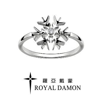 聖誕禮物推薦飾品戒指聖誕禮物雪花元素的戒指,纖細的戒指中央,閃耀銀白雪花綻放,譜出屬於冬季的優美戀歌。飾品就在戒指推薦飾品
