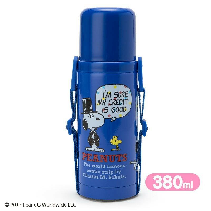 【真愛 】17121400009 兩用直飲杯蓋不鏽鋼壺-SN對話藍ABQB 史努比SNOO