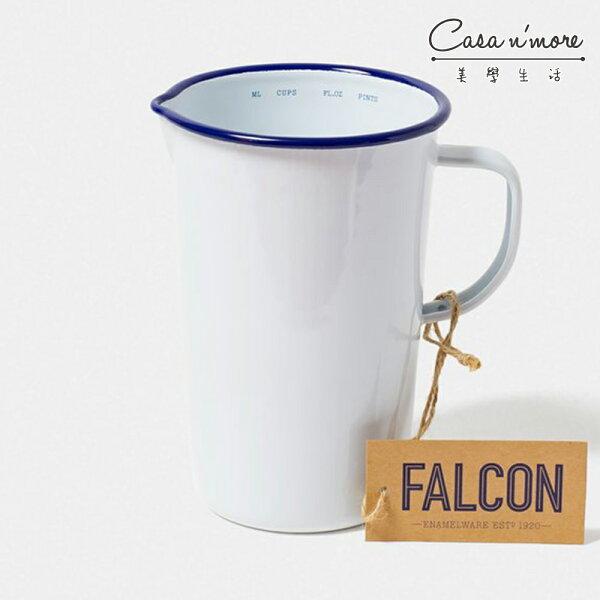 Falcon獵鷹琺瑯2品脫水壺水瓶水杯藍白