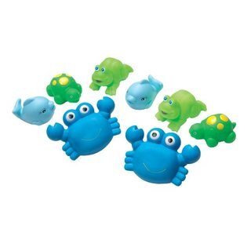 澳洲Playgro軟膠洗澡組藍色海洋PG0109864【淘氣寶寶】