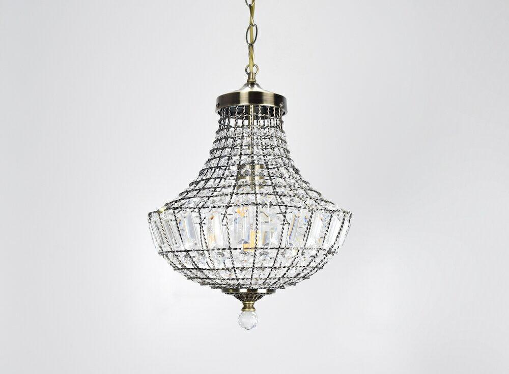 古銅提籠水晶吊燈-BNL00106 4