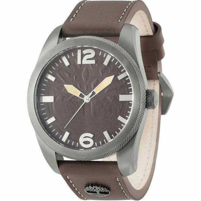 Timberland 天柏嵐 TBL.15034JSU / 12 美式立體流行腕錶 / 紅面 46mm - 限時優惠好康折扣
