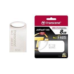 *╯新風尚潮流╭* 創見 JF720 USB3.1 隨身碟 8GB MLC 金屬殼 防水抗震 TS8GJF720S