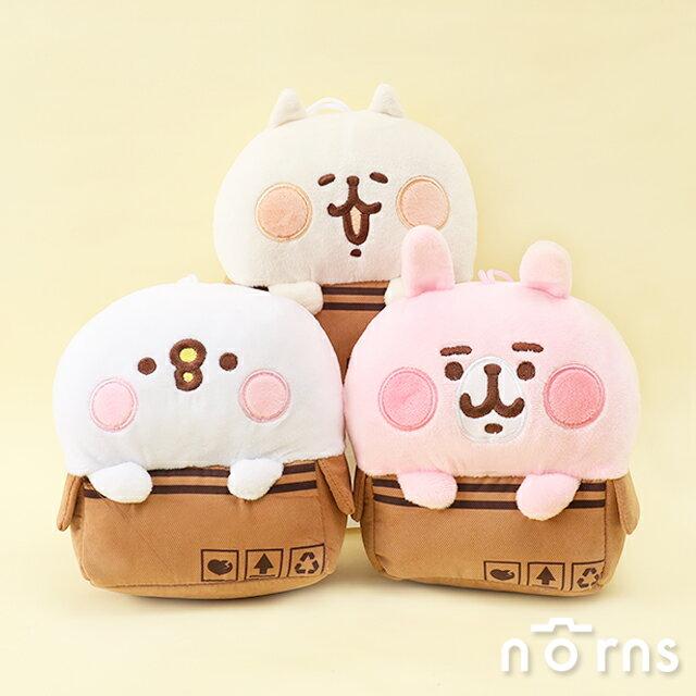 Kanahei紙箱娃娃6吋- Norns 附吊繩 卡娜赫拉小動物 兔兔P助NENE貓 正版授權 絨毛玩偶 0