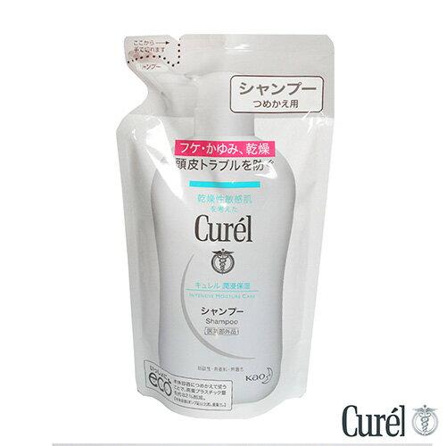 珂潤 Curel 溫和潔淨洗髮精360ml(補充包)