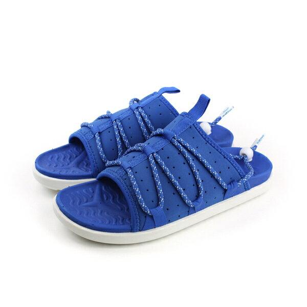 native PALMER 拖鞋 藍色 男女鞋 no631