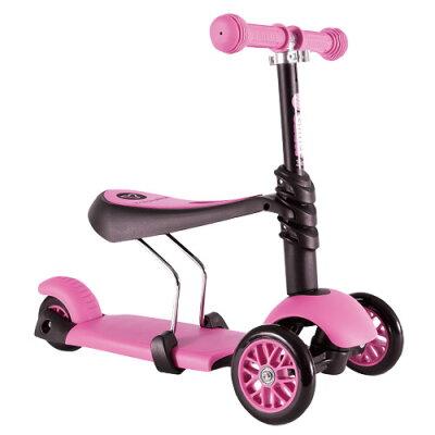 §Y Volution Glider平衡滑板車三合一款(粉色)