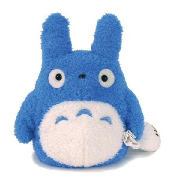 【真愛日本】18052400016輕綿柔娃M-提包袱中藍龍貓宮崎駿龍貓TOTORO娃娃玩偶藍龍貓