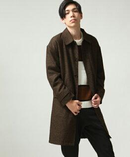 時尚長大衣BROWN