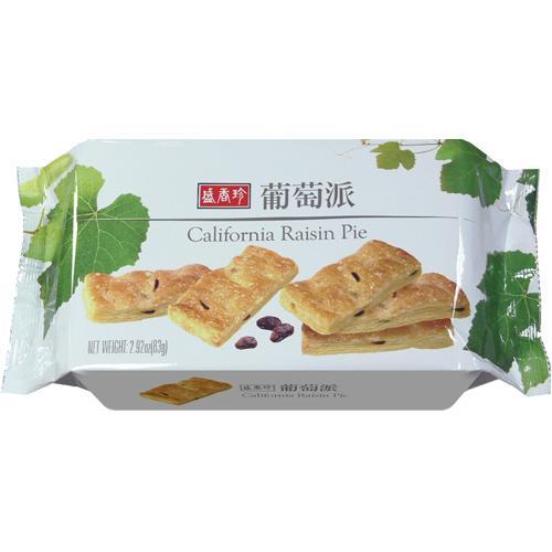 盛香珍 葡萄派83g 【合迷雅好物商城】
