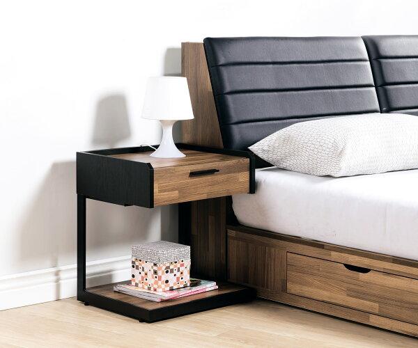 【尚品家具】HY-A69-01科隆一抽床頭櫃