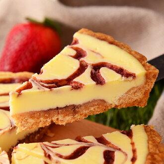 【美地瑞斯】草莓乳酪派 6吋→使用新鮮草莓自製果醬加上乳酪,大理石花紋般的美麗外表,視覺、味覺享受一次滿足!★草莓蛋糕★