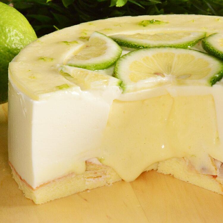 凍感萌檬6吋【美地瑞斯】爆漿檸檬內餡,冷凍時吃起來如爽口的檸檬冰淇淋,冷藏時切開會有爆漿像奶酪的感覺,入口即化清爽不甜膩! 2