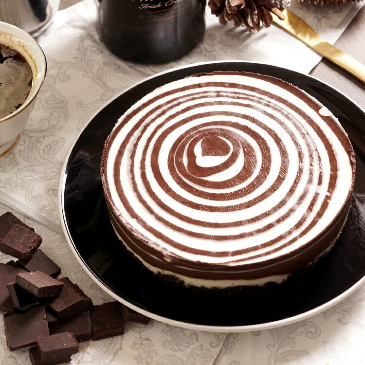 ~美地瑞斯~熊貓巧克力圓舞曲6吋→ 大量德國 70^%LUBECA黑巧克力,再加入BAIL